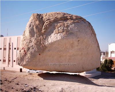 batu terbang Dome of the Rock